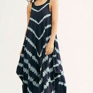 We The Free People Just The Thing Maxi Tee Tie Dye